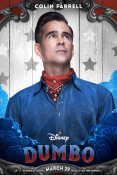Colin Farrell è Holt Farrier nel character poster dal film di Dumbo (2019)