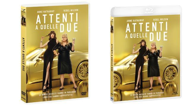 Attenti a quelle due -  la commedia nei formati DVD e Blu-ray