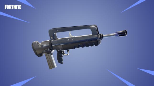 Vampafucil tra le nuove armi di Fortnite con la patch 4.2