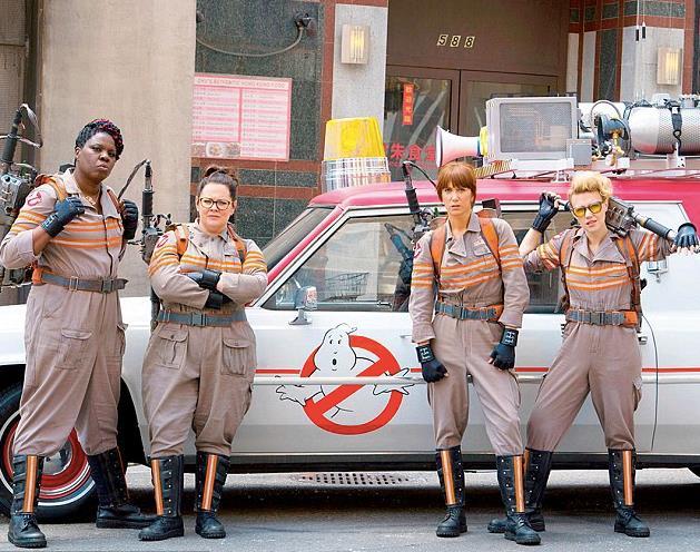 Il cast di Ghostbusters 2016