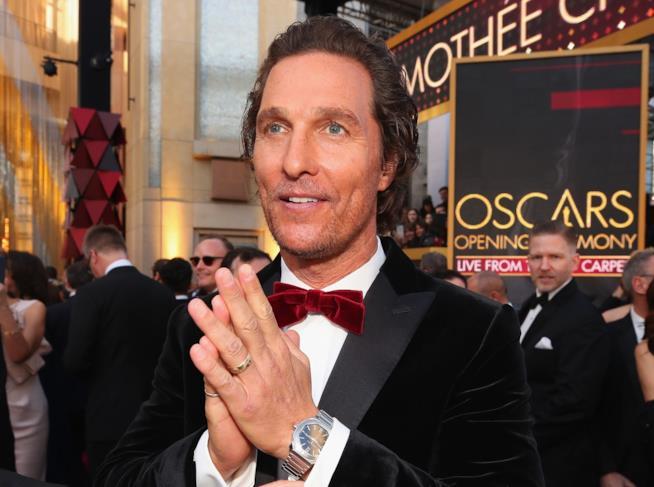 Matthew McConaughey in primo piano