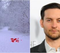 Tobey Maguire e un'immagine ipotetica di Sangue e Neve