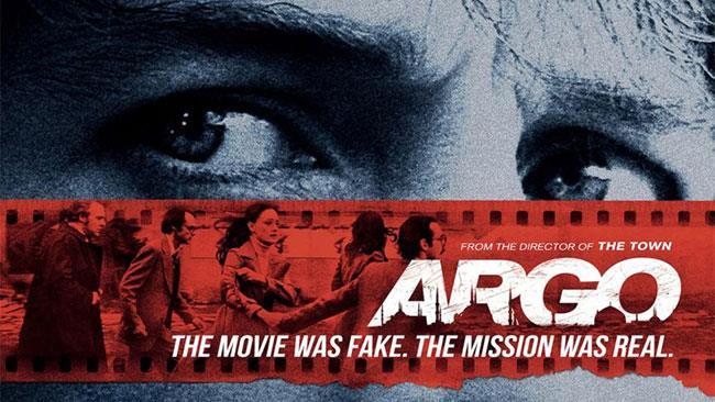 Il poster del film Argo con Ben Affleck