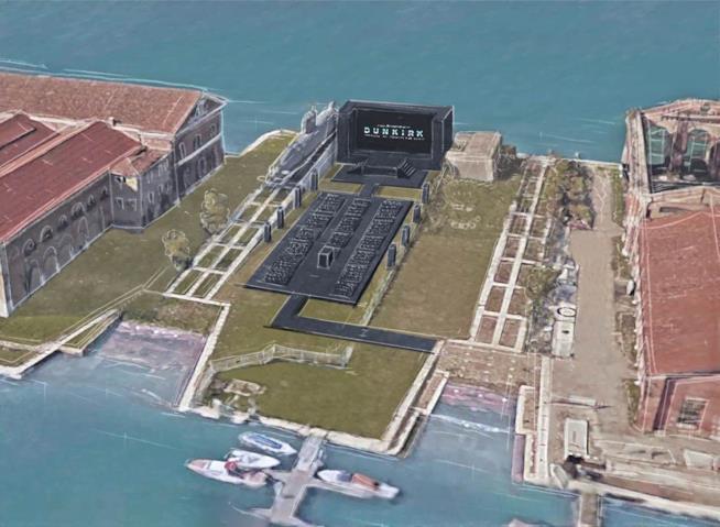 diagramma della premiere di Dunkirk a Venezia