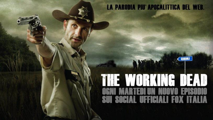 La locandina di The Working Dead, la serie parodia di The Walking Dead