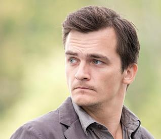 Un incidente per Rupert Friend di Homeland