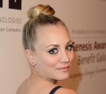 L'attrice Kaley Cuoco