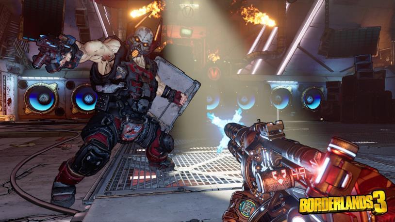 Borderlands 3 boss battle