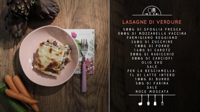 La ricetta delle lasagne di verdure