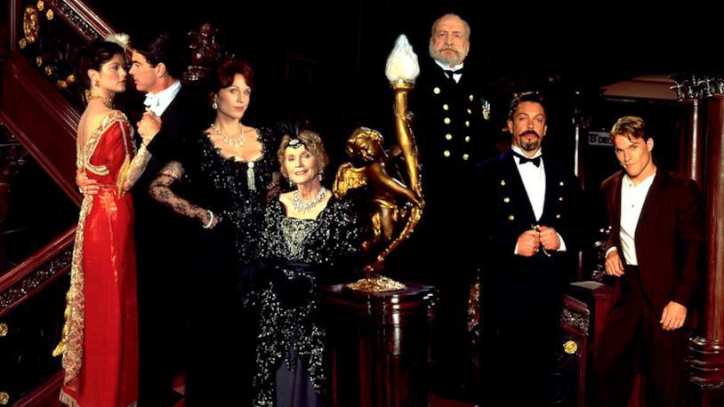 I protagonisti della mini serie Titanic