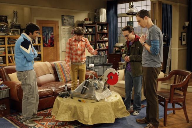 La scena del robot da combattimento in The Big Bang Theory