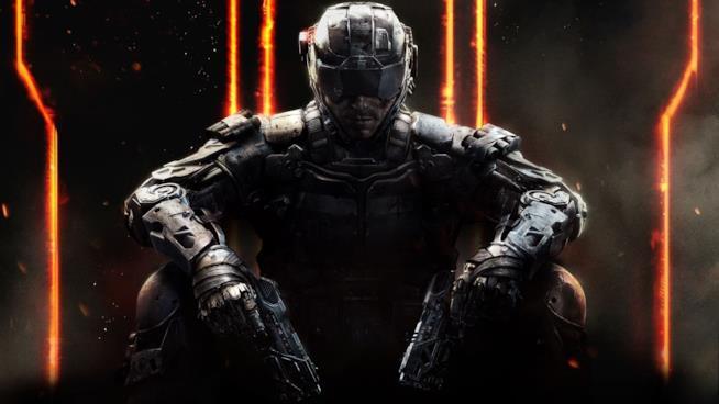 La copertina ufficiale di Call of Duty: Black Ops 3