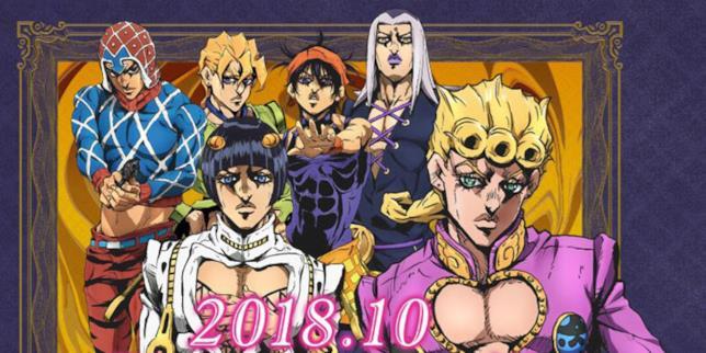 Jojo Vento Aureo Characters