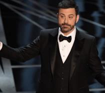 Un primo piano di Jimmy Kimmel