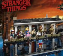 Il box del set LEGO dedicato alla serie TV Stranger Things