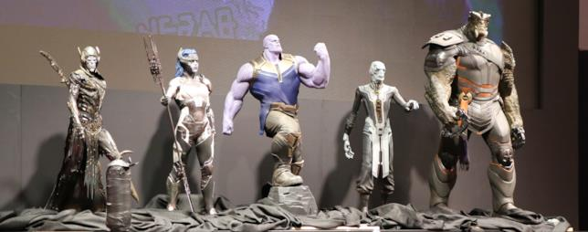 Il Black Order di Thanos in mostra durante il panel al San Diego Comics-Con 2017