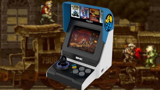 Neo Geo Mini console da retrogaming