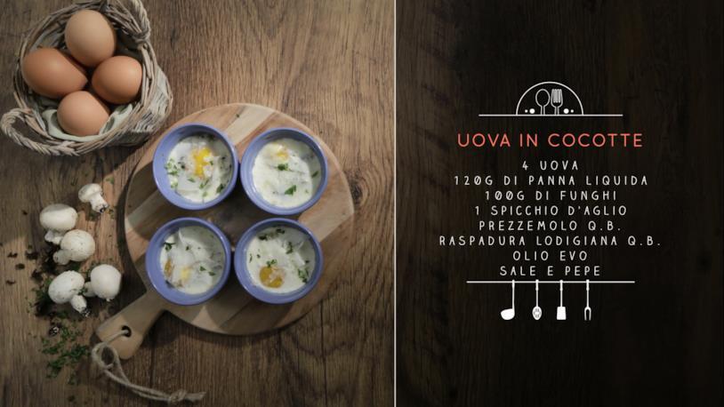 La ricetta delle uova in cocotte