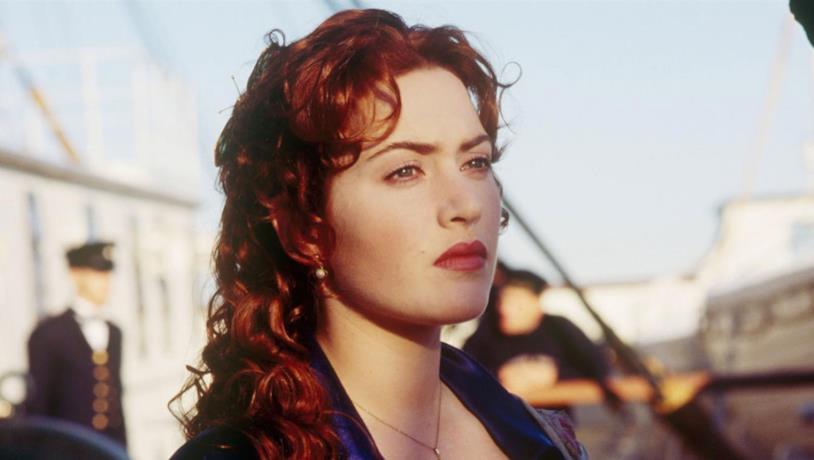 Rose DeWitt Bukater in una scena di Titanic