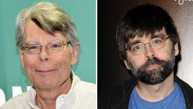 Foto di Stephen King e Joe Hill