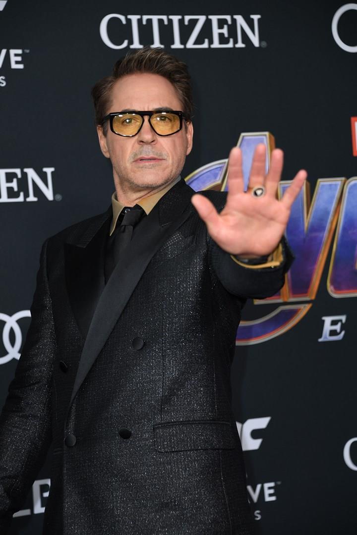 L'attore interprete di Tony Stark/Iron Man