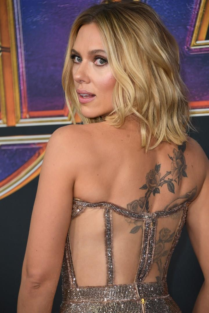 Scarlett Johansson alla prima mondiale di Avengers: Endgame a Los Angeles
