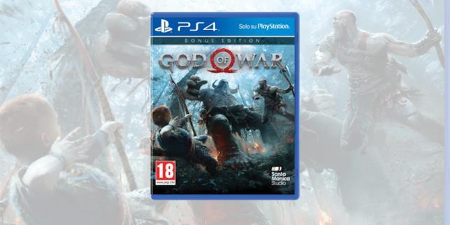 La boxart della Bonus Edition di God of War