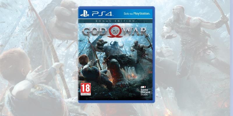 God of War è disponibile su PlayStation 4