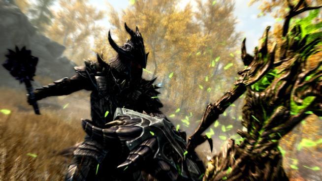 Uno spezzone dal trailer ufficiale del remaster di Skyrim su PS4 e Xbox One