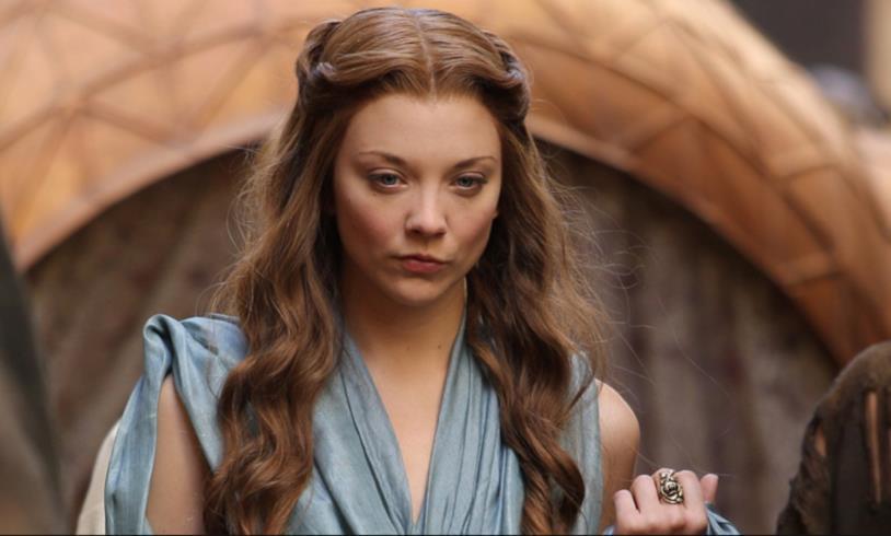 Margaery Tyrell arrabbiata in Game of Thrones