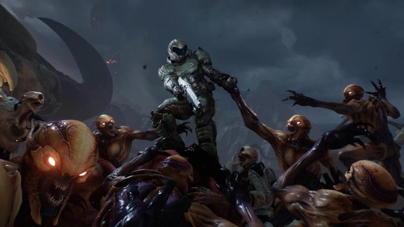 L'eroe di Doom combatte con i demoni nel reboot