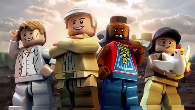 L'A-Team è uno dei tanti brand anni '80 presenti in LEGO Dimensions