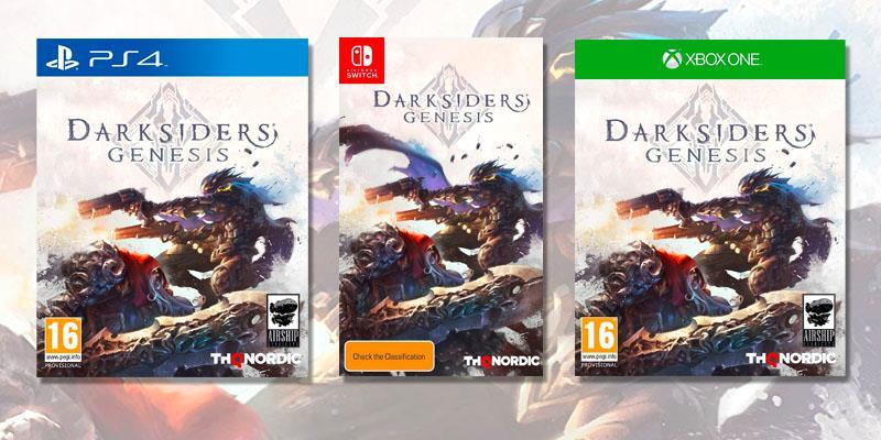 La copertina di Darksiders Genesis