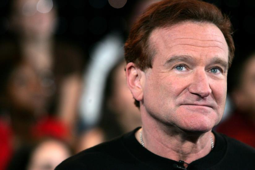 Robin Williams in primo piano
