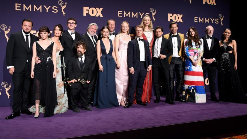 Il cast di Game of Thrones agli Emmy 2019