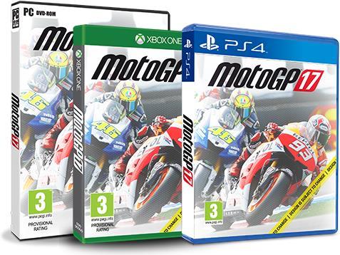 MotoGP 17 per PC, PS4 e Xbox One