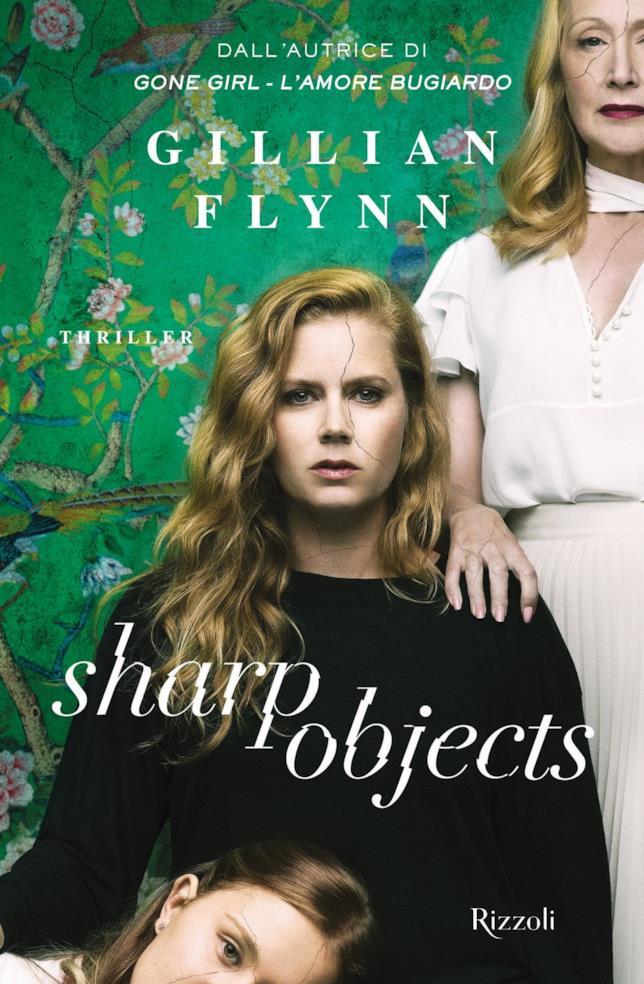La copertina movie tie-in di Sharp Objects