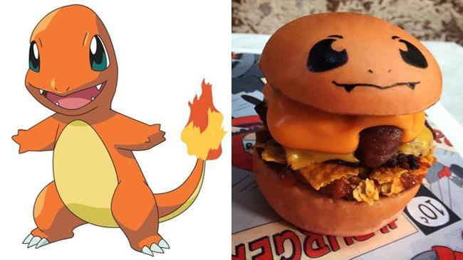 Charmander, il Pokéburger
