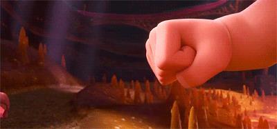 Fist Bump per Ralph e Vanellope