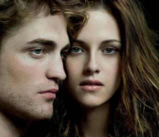Kristen Stewart e Robert Pattinson in Twilight
