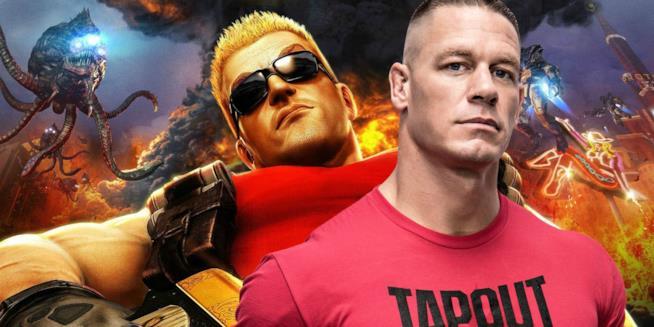 John Cena e Duke Nukem