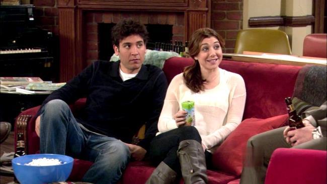 Lily lascia a Ted una importante lezione di vita