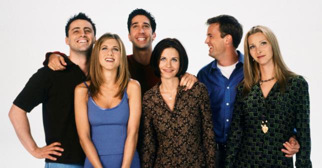 Foto del cast di Friends