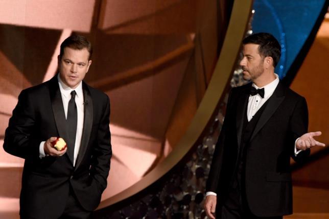 Matt Damon rovina la festa a Kimmel