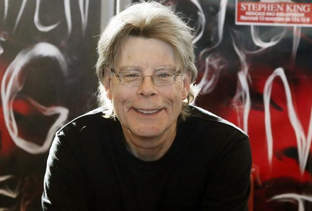 Un sorridente Stephen King