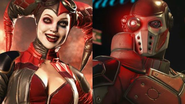Harley Quinn e Deadshot da Injustice 2