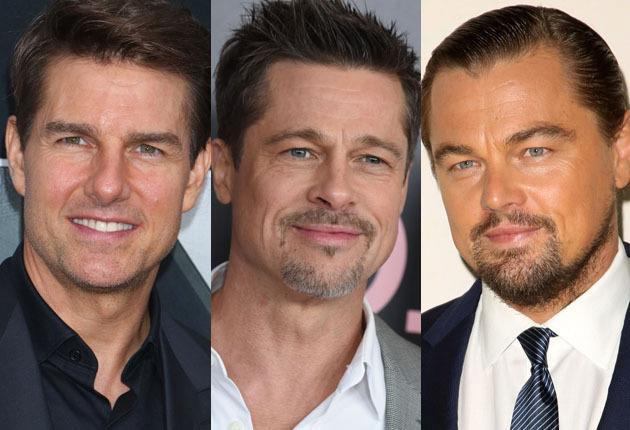 Tom Cruise, Brad Pitt e Leonardo DiCaprio