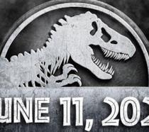 Il logo con la data di uscita di Jurassic World 3