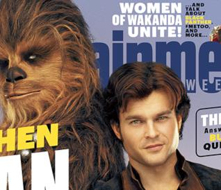 Le immagini di Solo: A Star Wars Story di Entertainment Weekly