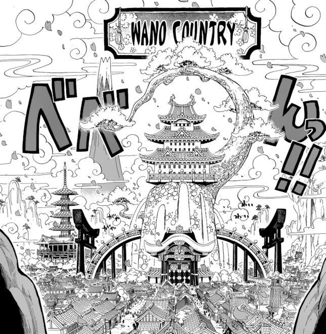 One Piece il paese di Wano